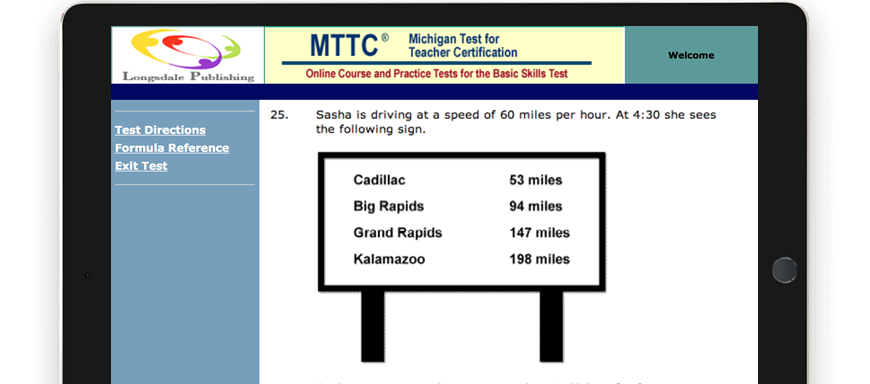 MTTC test question