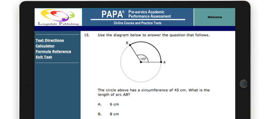PAPA test question