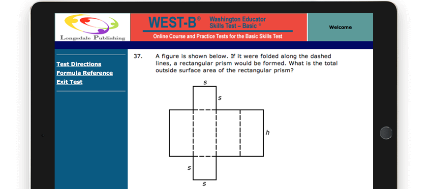WEST-B test question